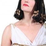 Woman in Cleopatra Fancy Dress Costume — Stock Photo #9768820