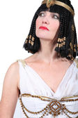 Woman in Cleopatra Fancy Dress Costume — Stock Photo
