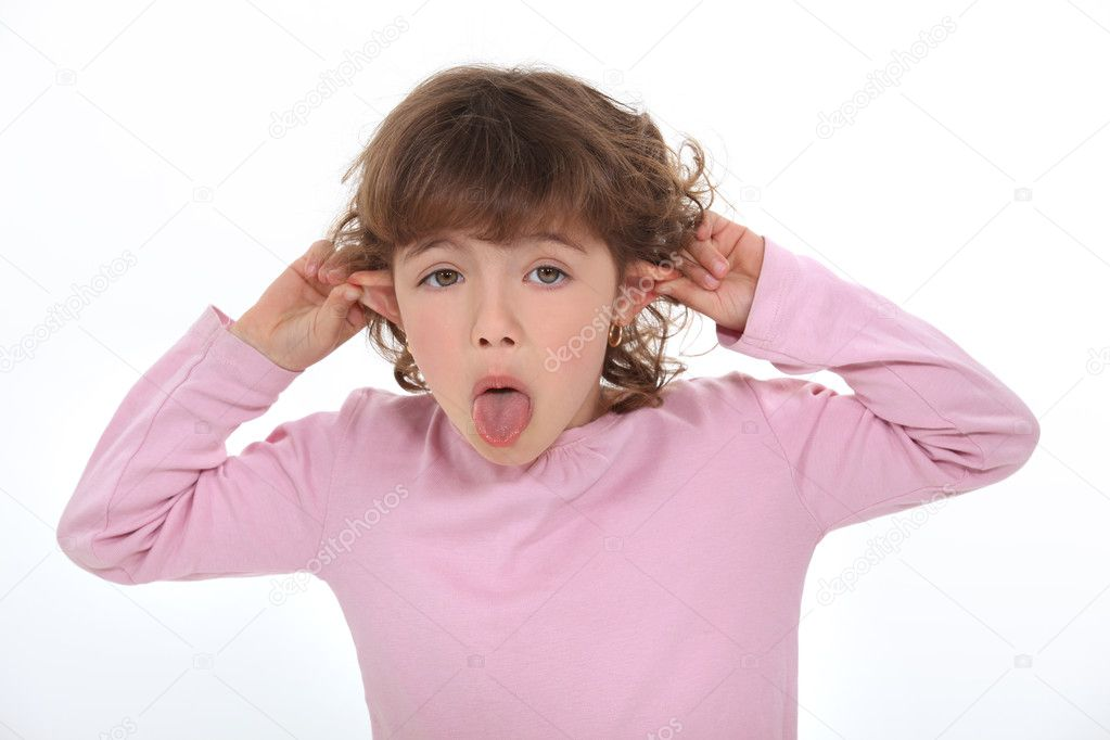Funny face — Stock Photo #9767182