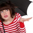 Is it raining? — Stock Photo