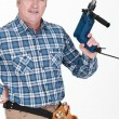 Mholding power tool — Stockfoto #9784541