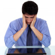 Stressed-out employee — Stock Photo #9787256