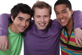 Three teenage friends — Stock Photo