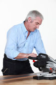 Craftsman chainsaw — Stock Photo