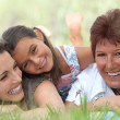 Royalty-Free Stock Photo: Three generations of women