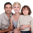 Young family — Stock Photo