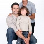 Family portrait — Stock Photo
