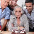 Birthday in family — Stock Photo #9810908
