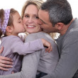 A loving family - Stock Photo
