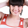 Young woman with bright smile — Stock Photo #9813106