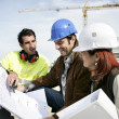 Construction workers — Stock Photo #9816467