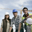 Construction colleagues — Stock Photo