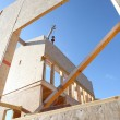 Shot of unfinished house — Stock Photo