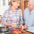 Royalty-Free Stock Photo: Senior couple in the kitchen