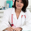 Female medical consultation — Stock Photo