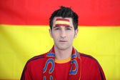 Spain supporter — Stock Photo