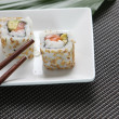 Small portion of sushi — Stock Photo