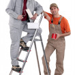 Pair of decorators - Photo