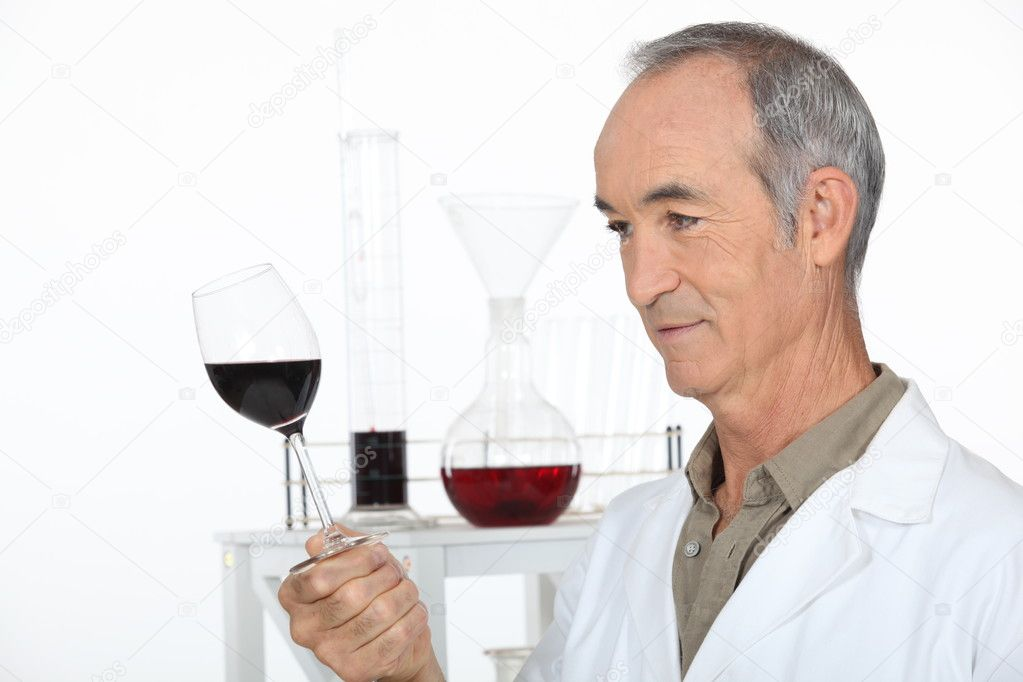 Wine laboratory — Stock Photo #9953286