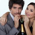 Party Couple — Stock Photo