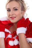 Mrs Christmas — Stock Photo