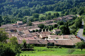Rural village from above — Stock Photo