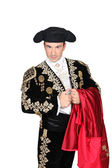 Portrait of a bullfighter — Stock Photo