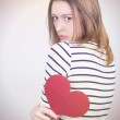 Broken hearted — Stock Photo #8721565