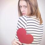 Broken hearted — Stock Photo