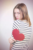 Broken hearted — Stockfoto