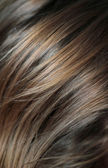 Human hair background — Stock Photo