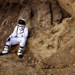Astronaut on Mars — Stock Photo #9021867