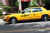 NYC yellow cabs — Foto de Stock