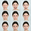 Facial Expressions — Stock Photo
