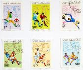 VIETNAM - CIRCA 1980s: A set of stamps — Stockfoto