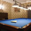 Interior of the billiard room — Stock Photo #9701828