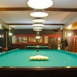 Russian billiard table — Stock Photo