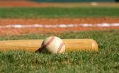 Beisebol e taco — Foto Stock