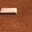 Baseball Field Second Base — Stock Photo