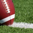 Football close up on Field — Stock Photo #9135620