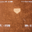 Stock Photo: Baseball Field Home Plate