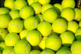 Pile of Tennis Balls — Stock Photo
