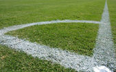 Lines of a Soccer Field — Stock Photo