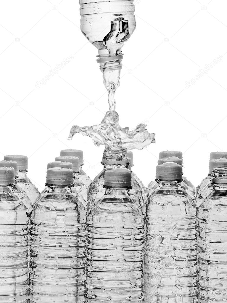 Bottled Water  Stock Photo #9339543
