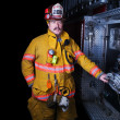 Firefighter Portrait — Stock Photo #9416096