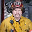 Firefighter Portrait — Stock Photo #9416100