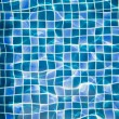 Stock Photo: Refection of Blue water in Swimming pool