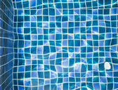 Refection of Blue water in Swimming pool — Stock Photo