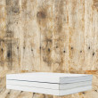 Blank Book on wood background — Stock Photo #10722850