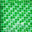 Stock Photo: Refection of green water in Swimming pool